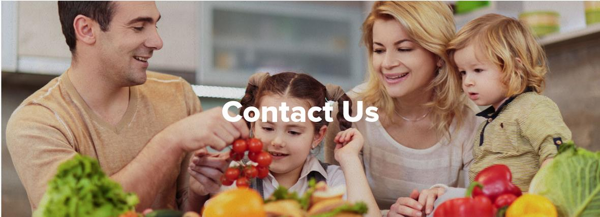 Banner picture for the Contact Us page of Speaking of Nutrition