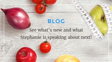 Graphic link to the Blog page for Speaking of Nutrition
