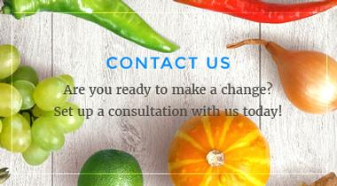 Graphic link to the Contact Us page for Speaking of Nutrition